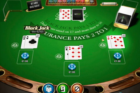 double posure blackjack professional series netent blackjack